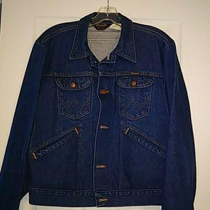 Wrangler jean jacket